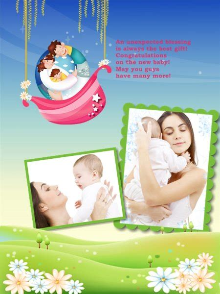 baby collage templates baby collage card add on templates free