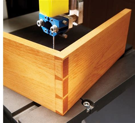 woodworking dovetail bandsawn dovetails popular woodworking magazine