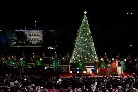 2015 national christmas tree lighting thirteen new