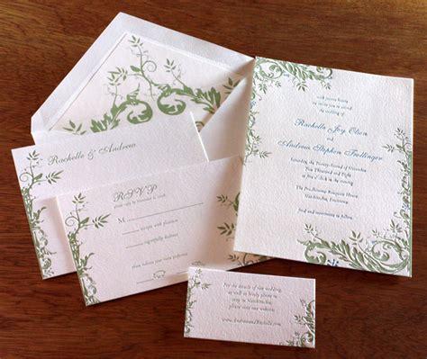 Wedding Invitations Ordering by Wedding Invitation Basics Ordering Letterpress Wedding
