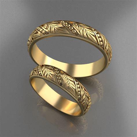 wedding rings 5 3d model 3d printable stl cgtrader com
