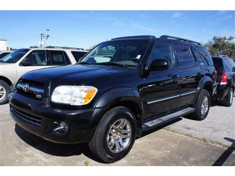 2008 Toyota Sequoia Towing Capacity 2005 Toyota Sequoia Towing Specifications