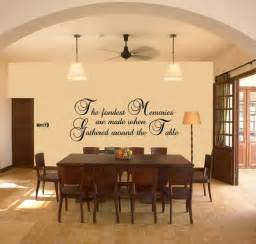 Pictures Of Dining Room Wall Decor Dining Room Wall Vinyl Quotes Quotesgram