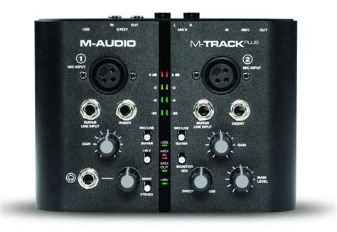 Sound Card Usb M Audio M Audio Usb Sound Card Mtrack Plus