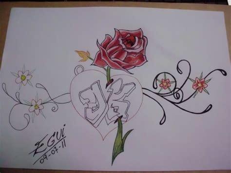 imagenes hechos a lapiz faciles dibujos artisticos de corazones hechos a l 225 piz
