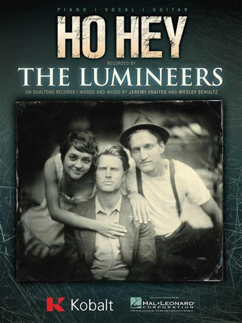 Hey Ho ho hey sheet by the lumineers sheet plus
