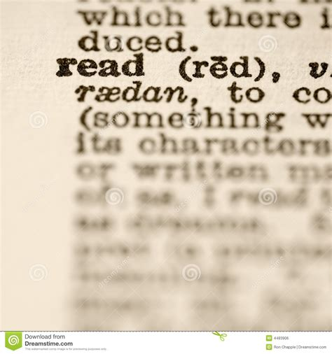 stock images definition definition of read royalty free stock image image 4483906