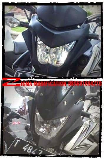zigmodify custom bike jual cover headl kedok v1