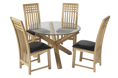 Dining Set Table And Chairs Dining Room Traditional Style Dining Set With Glass Dining Table And Plus Back To Post