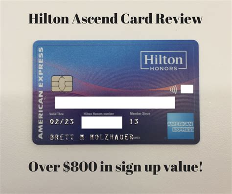 hilton ascend american express credit card review baldthoughts