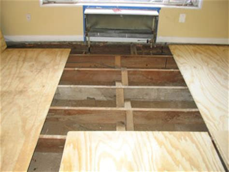 A Guide To Subfloors Used Under Wood Flooring, Basement