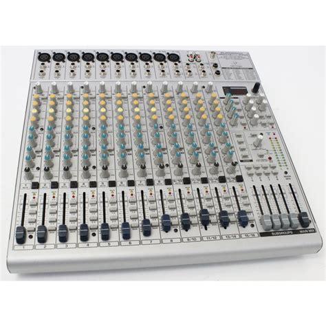 Mixer Behringer Eurorack Ub2442fx Pro behringer eurorack ub2442fx pro 24 channel mixer mixing