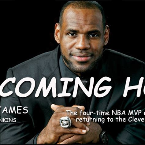 lebron s i m coming home announcement presented in