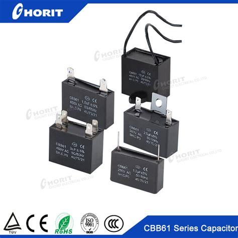 cbb61 capacitor cbb61 capacitor 0 8uf 24uf 1 5uf 12uf 250v 250vac 400v 400vac 250vac 40 70 21 50 60hz generator