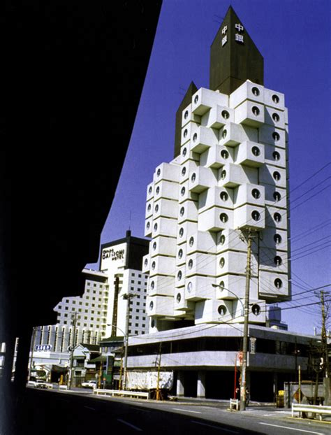 Japanese Modern Architecture more about nakagin capsule tower tokyo japan