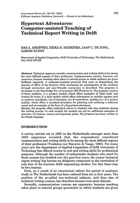 layout of a university report reports guided writing