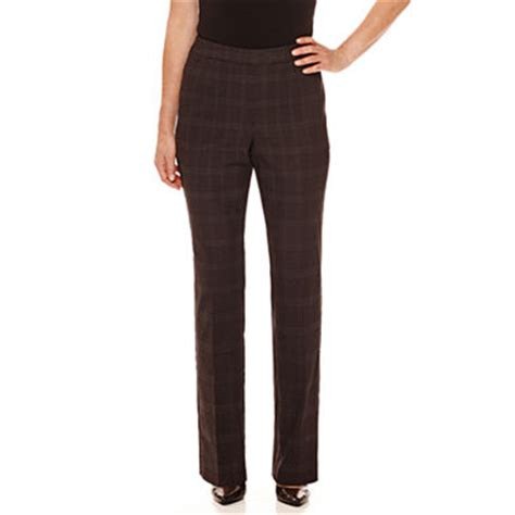 patterned tights jcpenney briggs pattern pull on stretch pants jcpenney
