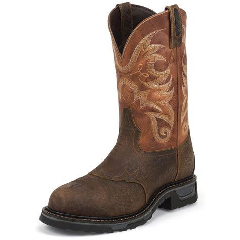 tony lama work boots tony lama s badlands waterproof tlx western