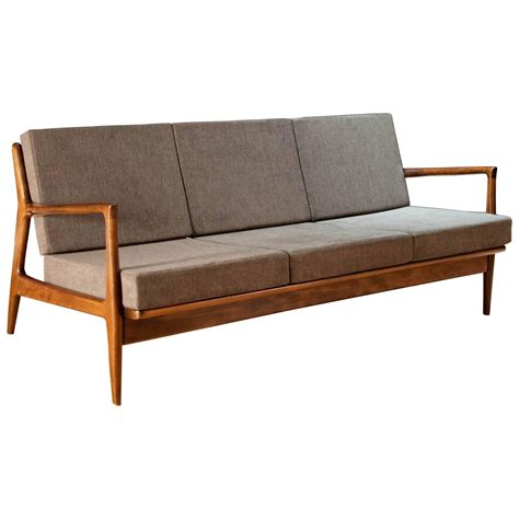 selig couch danish ib kofod larsen sofa by selig at 1stdibs