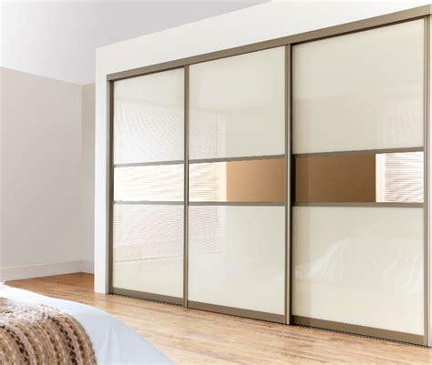 sliding wardrobe doors give contemporary