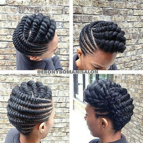 african american flat twist bun hairstyles pictures flat twist styles for natural hair a million styles africa