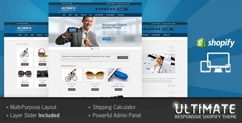 shopify templates free ultimate responsive shopify theme by buddhathemes