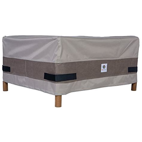 Patio Furniture Covers Duck Duck Covers Square Patio Ottoman Or Side Table
