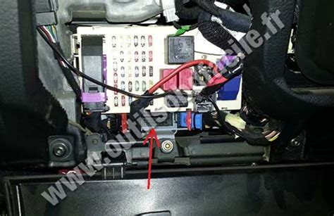 obd connector location  alfa romeo gt