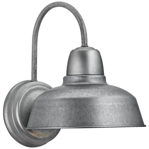 Galvanized Outdoor Light Barn 13 Quot High Galvanized Outdoor Wall Light 4m534 Lsplus