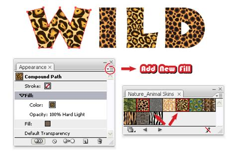 animal pattern font quick tip create an animal print text effect with adobe