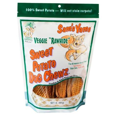 sam s dogs sam s yams veggie rawhide sweet potato treats 1 pound my pet supplies