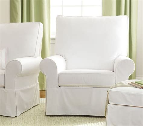 rocking chair and ottoman slipcovers chairs seating