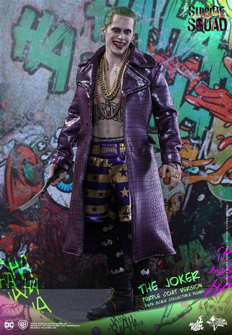 Toys Joker Squad Purple Coat squad 1 6th scale the joker purple coat version