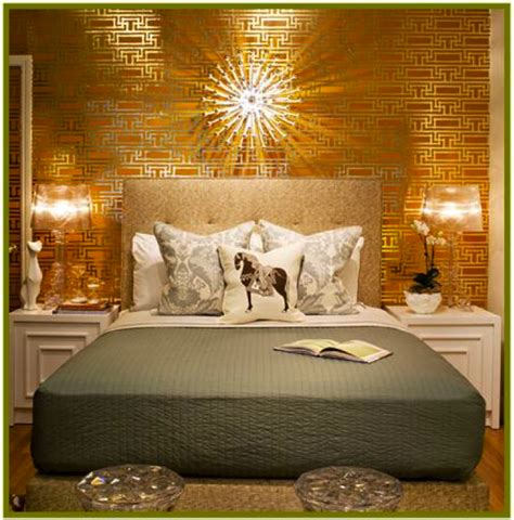 gold walls bedroom bedroom gold accent wall pictures decorations