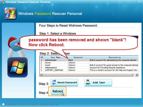 password resetter xp windows xp password recovery recover administrator password