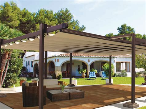 sliding pergola cover aluminium pergola with sliding cover r150 pergosquare by bt