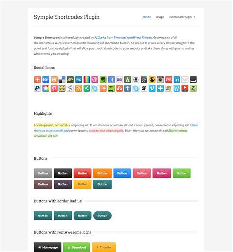 stron biz wordpress template shortcode