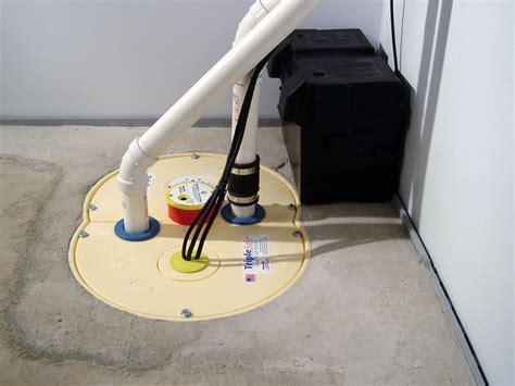 sump installation in basement an indoor or outdoor sump