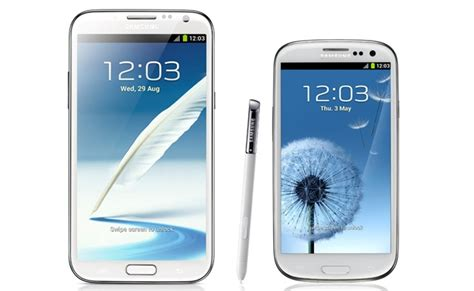 Samsung S3 Note Samsung Galaxy S3 Galaxy Note 2 Android 4 2 Update Delayed