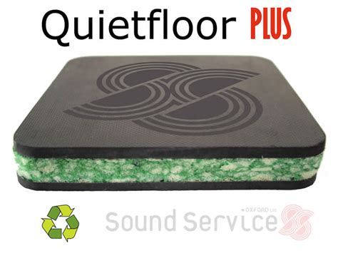 Floor Noise Reduction Quietfloor Plus Soundproof Underlay