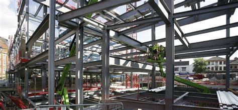 design engineer nottingham complex steel frame helps revitalise nottingham city