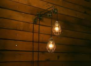 Wall Mount Pendant Light Industrial Pulley Light Trolley Wall Mount Hanging Pendant Lights Ebay