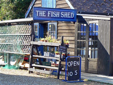 Fish For Shedding by Brancaster Including Brancaster Staithe Harbour And