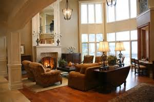traditional family room casual elegance