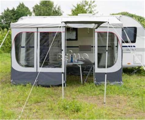 wohnwagen markisen vorzeltw 228 nde f 252 r instant roof panorama 400 hellgrau