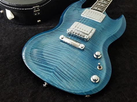 gibson sg supreme gibson sg supreme 2016 blue guitars rock nz s
