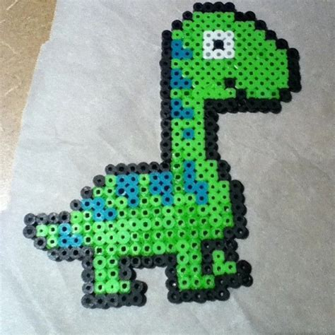 perler dinosaur dinosaur perler by afropills craft ideas