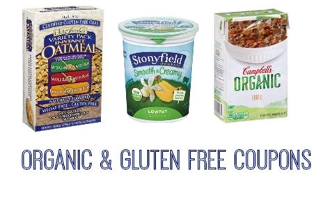 printable grocery coupons for organic foods organic gluten free coupons southern savers