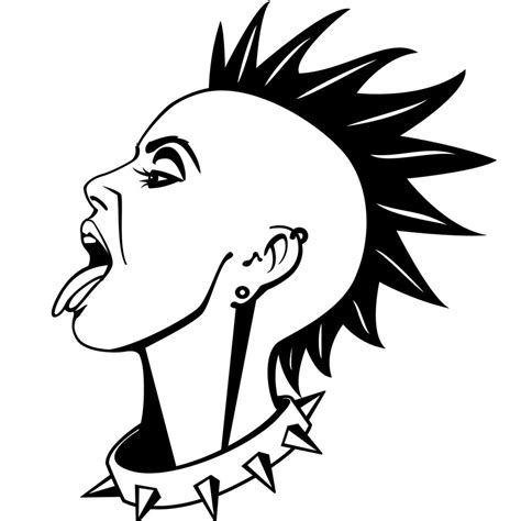 punk vector illustration by vectorportal on deviantart