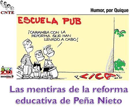 imagenes reforma educativa presentaci 243 n power point las mentiras de la reforma